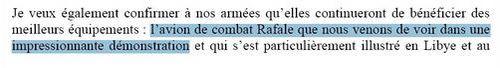 Rafale JM Ayrault