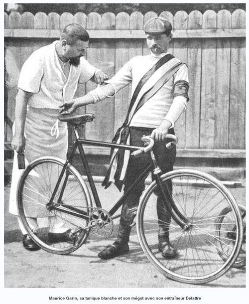 Garin et son entraîneur Delattre