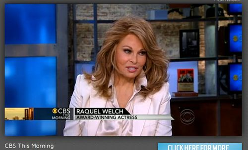 Raquel Welch - CBS - 2013