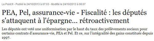 Assommoir fiscal socialiste