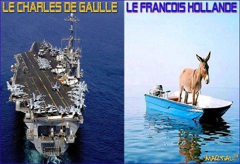 Le Charles de Gaulle-le François Hollande