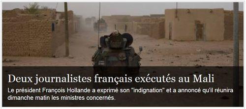 Mali-journalistes exécutés-02.11.2013