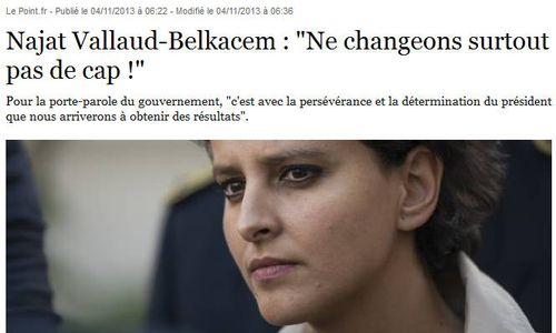 Vallaud-Belkacem-ne changeons pas de cap