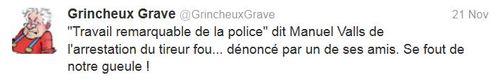 Travail remarquable de la police-21.11.2013