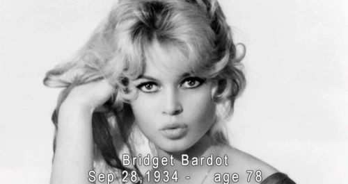 Slideshow-Bridget Bardot