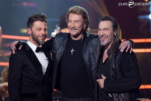 Johnny Hallyday FR2 le Grand Show 21.12.2013