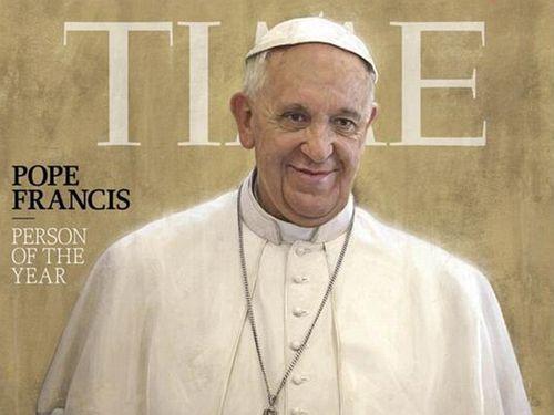 Le-pape-Francois-elu-personnalite-de-l-annee-2013-par-le-Time