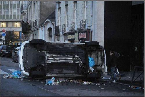 Violence de gauche à Nantes-2