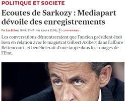 Mediapart-écoutes Sarkozy
