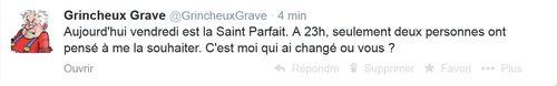 Tweet St Parfait