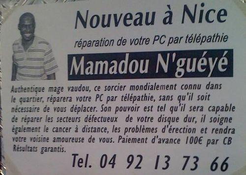 Mamadou une chance pour la France