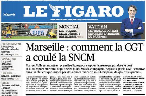 La CGT a coulé la SNCM