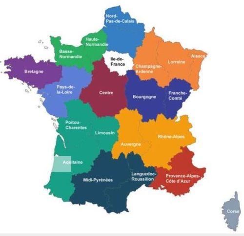 France 13 régions