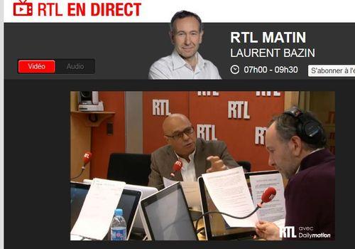 RTL studio - Laurent Bazin - Christian Menanteau