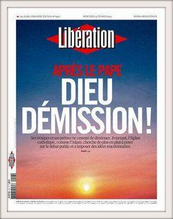 Libération titre Dieu démission