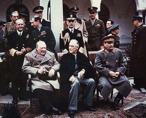 Yalta le partage du monde
