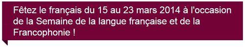 Semaine francophonie
