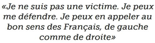 Sarkozy-Je ne suis pas une victime