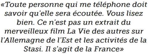 Sarkozy-Toute personne qui me téléphone