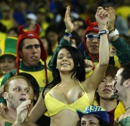 Spectatrice brésilienne