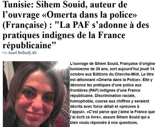 Sihem Souid-interview presse tunisienne