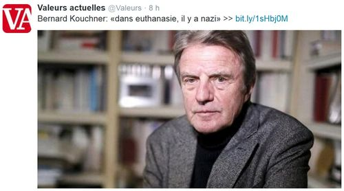 Kouchner-dans euthanasie il y a nazi-25.06.2014JPG