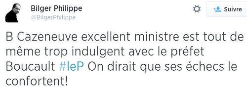 Cazeneuve excellent ministre selon Bilger