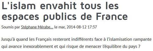 Islam- article dans Kabyle.com