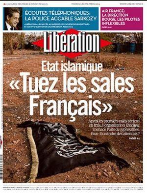 LIBERATION-Tuez les sales Français-23.09.2014