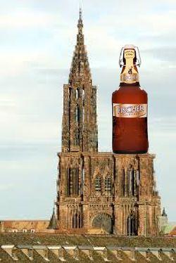 Strasbourg cathédrale et Fischer