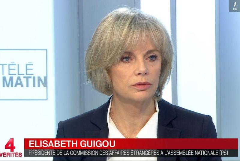 Elizabeth Guigou - Télé Matin -FR2 - novembre 2014
