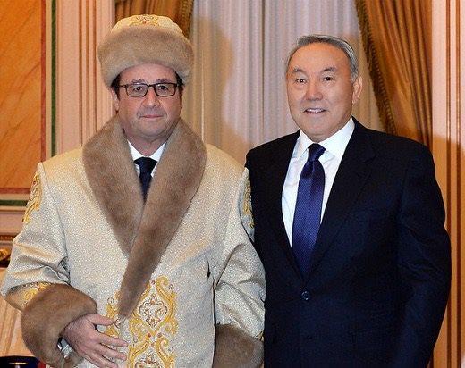 Hollande au Kazakhstan-05.12.2014