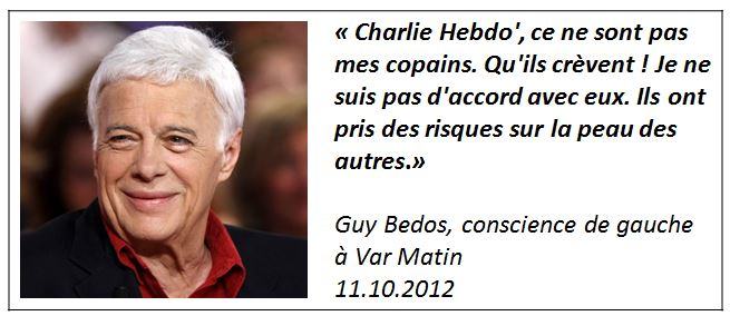Guy Bedos 11.10.2012 Var Matin
