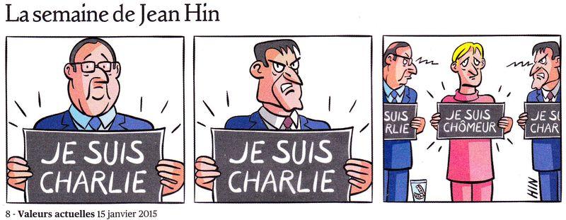 Je suis Charlie - Je suis chômeur - Jean Hin - 15.01.2015