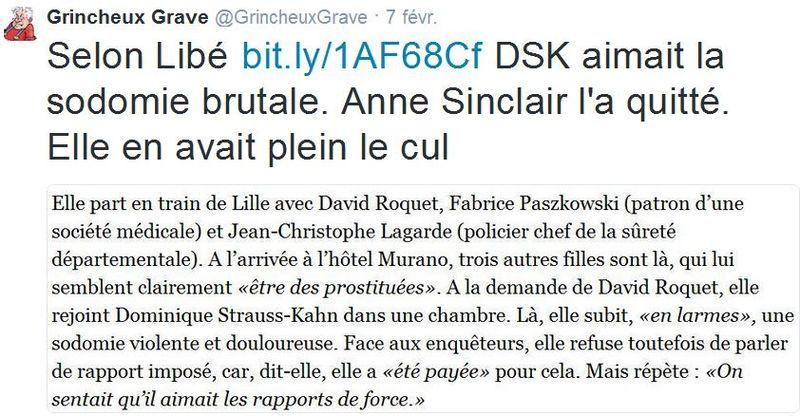 TWEET-DSK-Anne Sinclair en a eu plein le cul