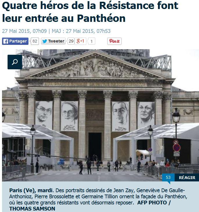 Jean Zay héros de la résistance au Panhéon