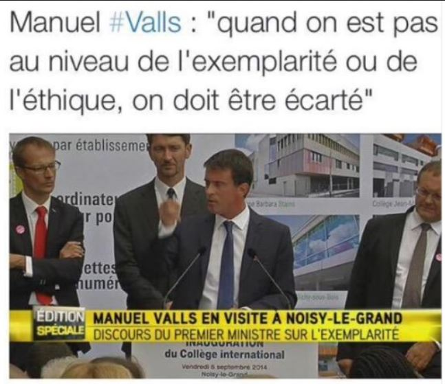 Manuel Valls à Noisy-le-Grand