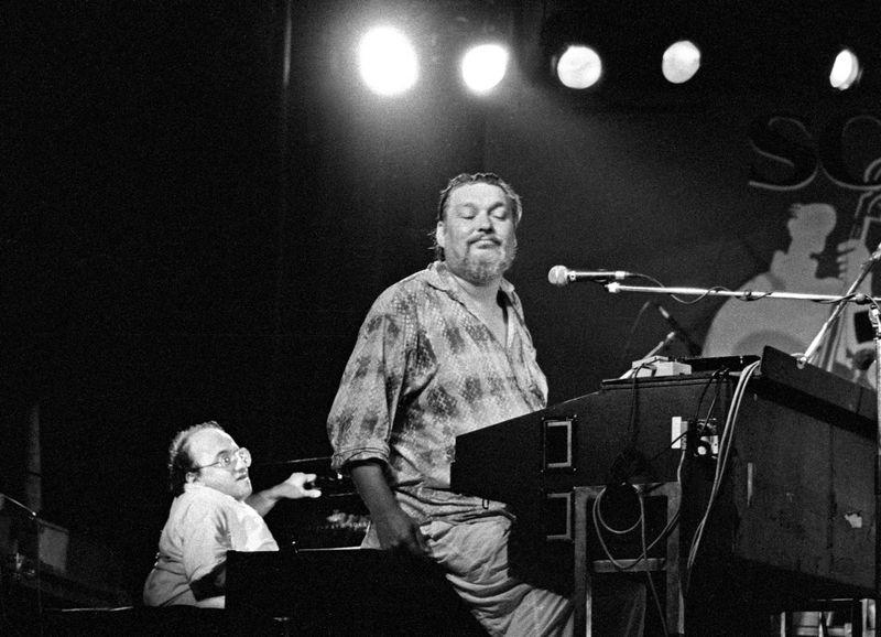 Michel Petrucciani et Eddy Louiss