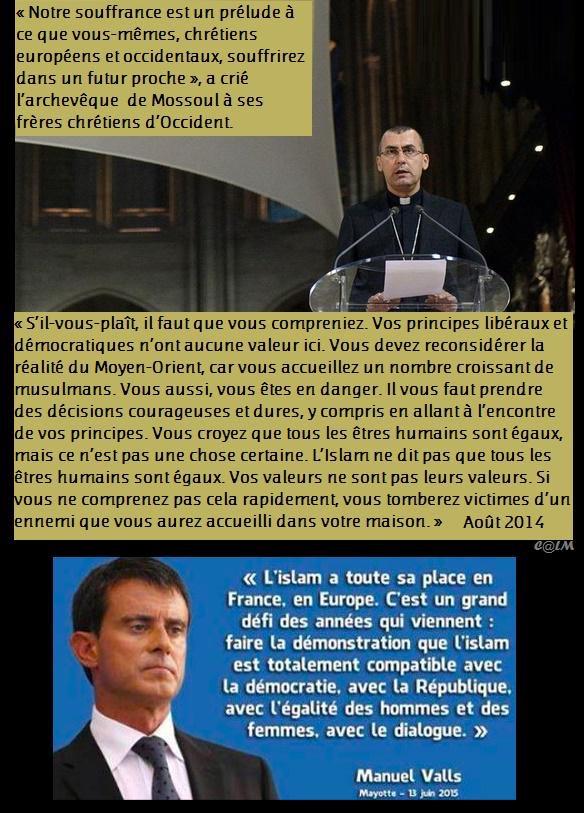 Valls et l'islam
