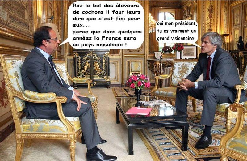 La France sera un pays musulman