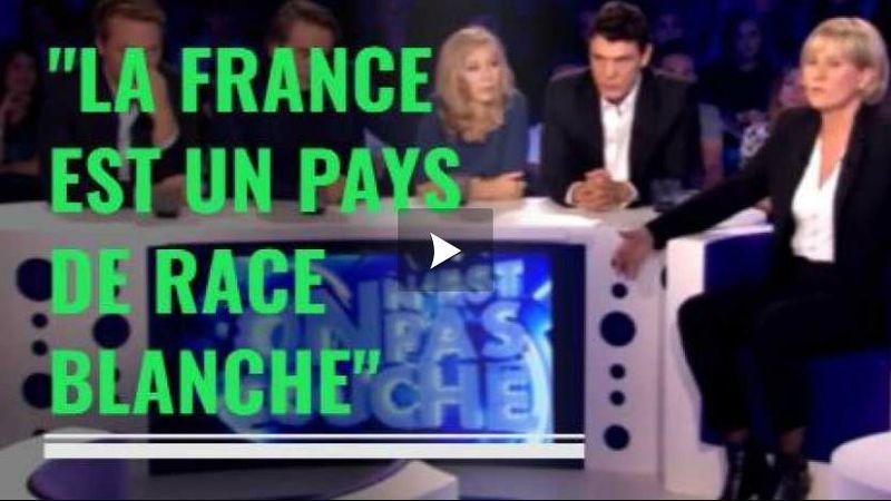 Nadine Morano - la France est un pays de race blanche -26.09.2015