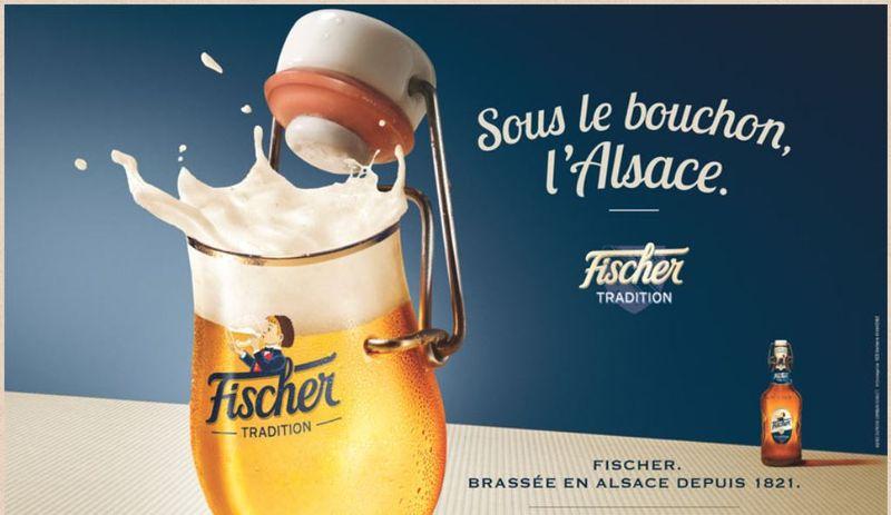 Fischer-sous le bouchon, l'Alsace