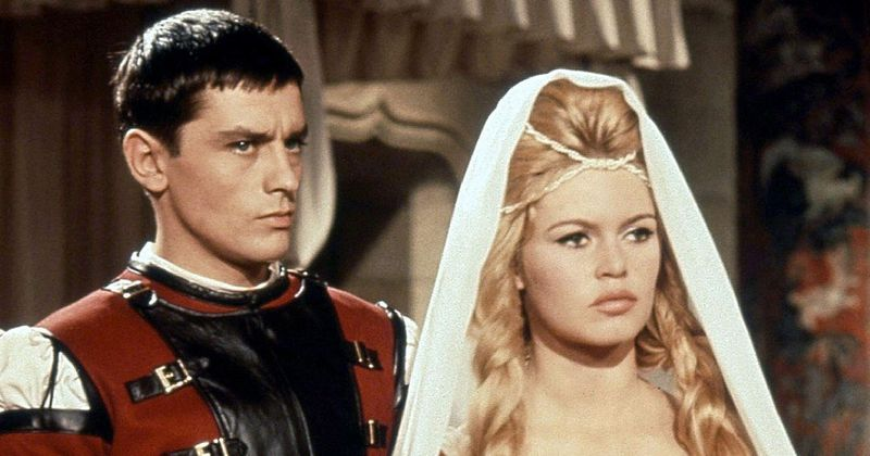 Delon et Bardot dans Les amours célèbres - Michel Boisrond - 1961