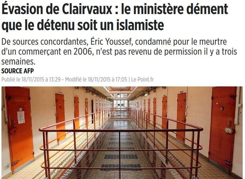 Evasion de Clairvaux-18.11.2015