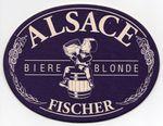 Fischer Alsace Bière blonde