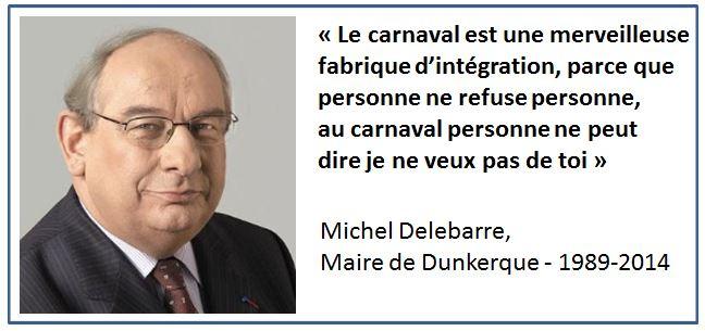 TWEET-Carnaval Dunkerque - Michel Delebarre