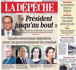 La Dépêche du Midi-12.02.2016