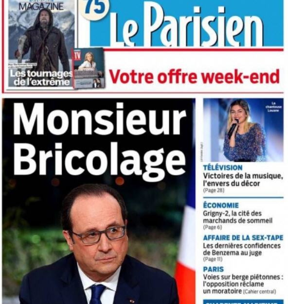 LE PARISIEN - Monsieur Briciolage-12.02.2016
