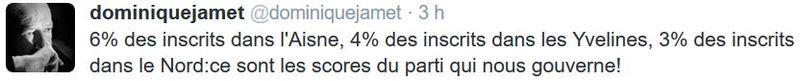 TWEET Dominique Jamet-14.03.2016