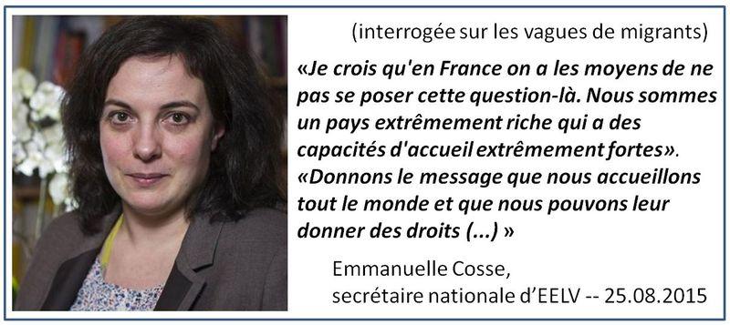 TWEET-Emmanuelle Cosse-les migrants